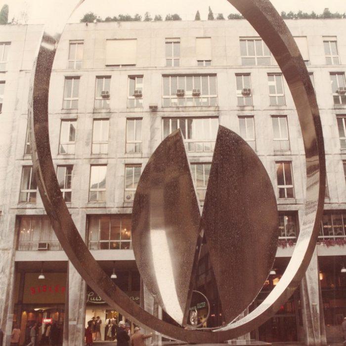 Percorso della scultura, Milano
